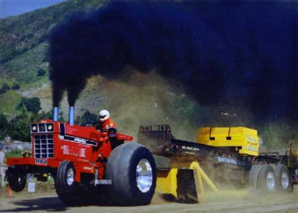 Red is the only color for a proper tractor.
